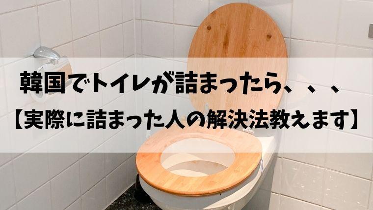 たら トイレ 詰まっ