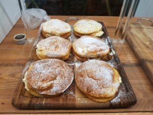 窯焼きパンケーキ