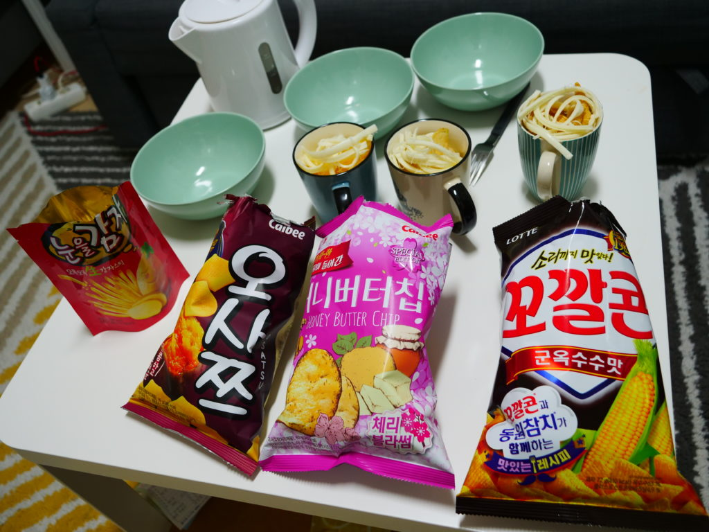 韓国ポテチ